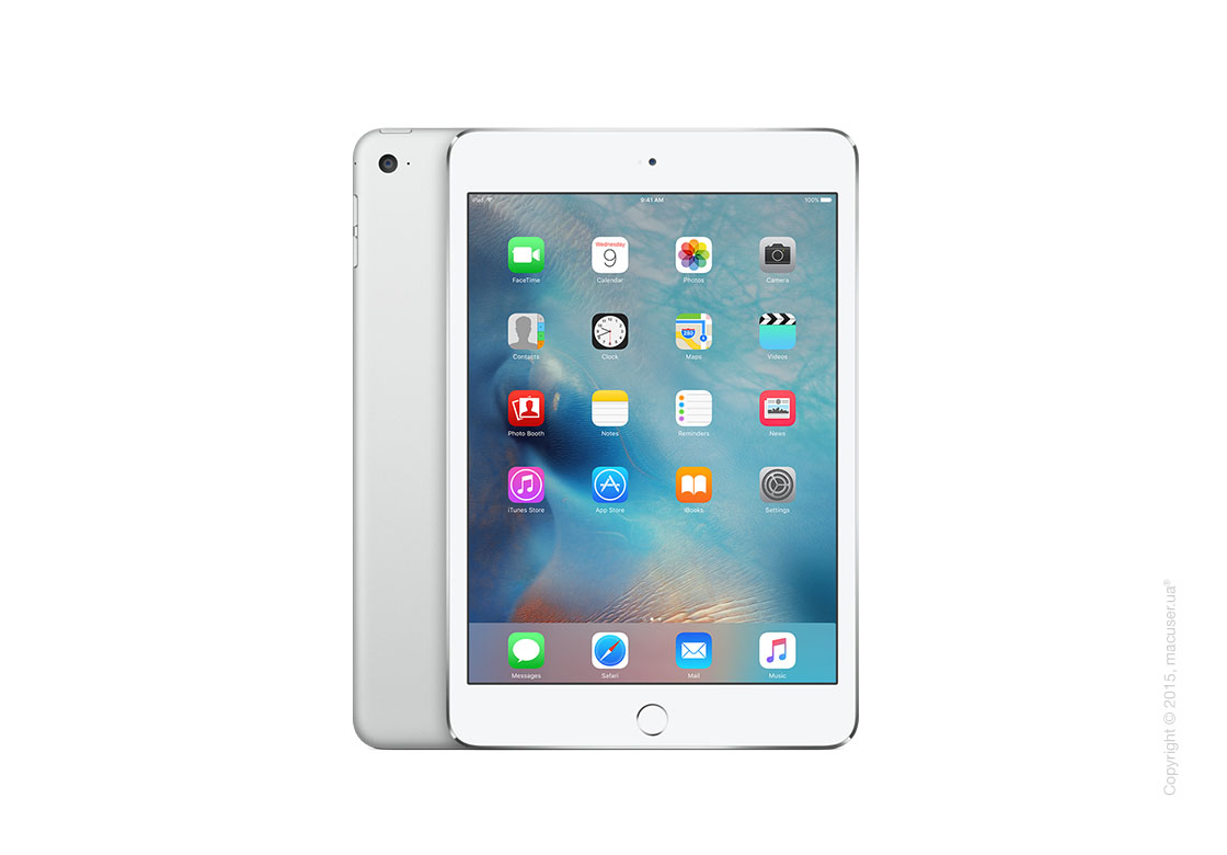 Apple iPad Mini 4 Wi-Fi+4G 16GB, Silver