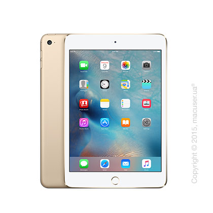 Apple iPad Mini 4 Wi-Fi+4G 16GB, Gold