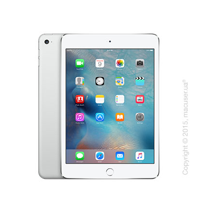 Apple iPad Mini 4 Wi-Fi+4G 128GB, Silver
