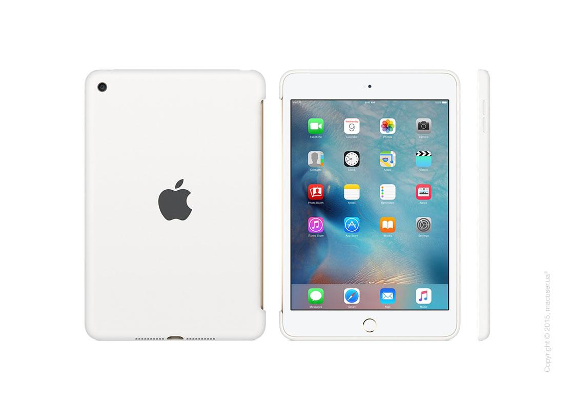 Чехол Silicone Case, White для iPad mini 4