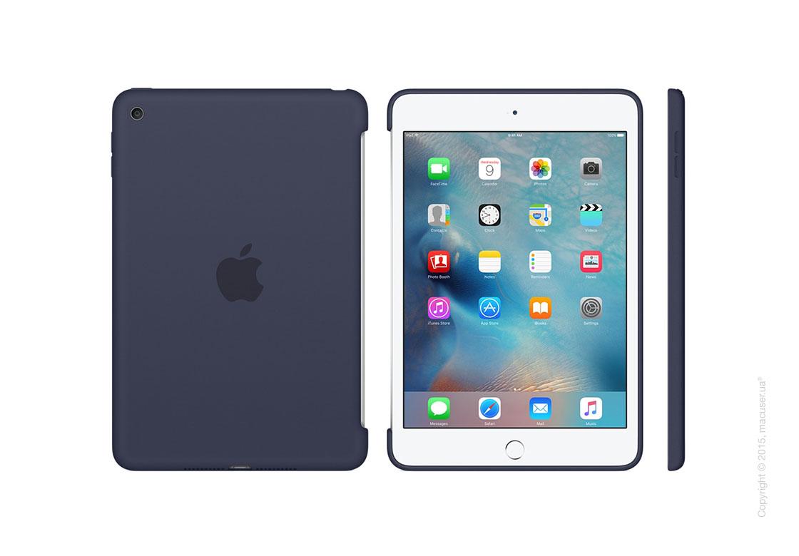 Чехол Silicone Case, Midnight Blue для iPad mini 4
