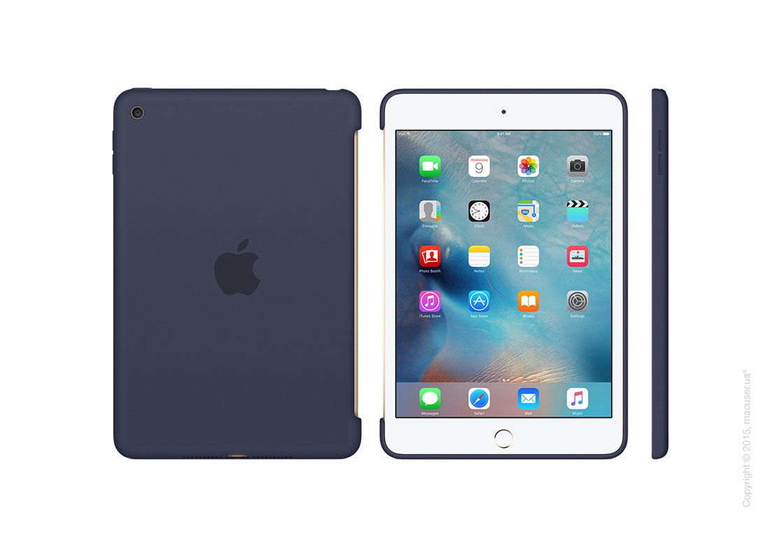 Чехол Silicone Case, Midnight Blue для iPad mini 4