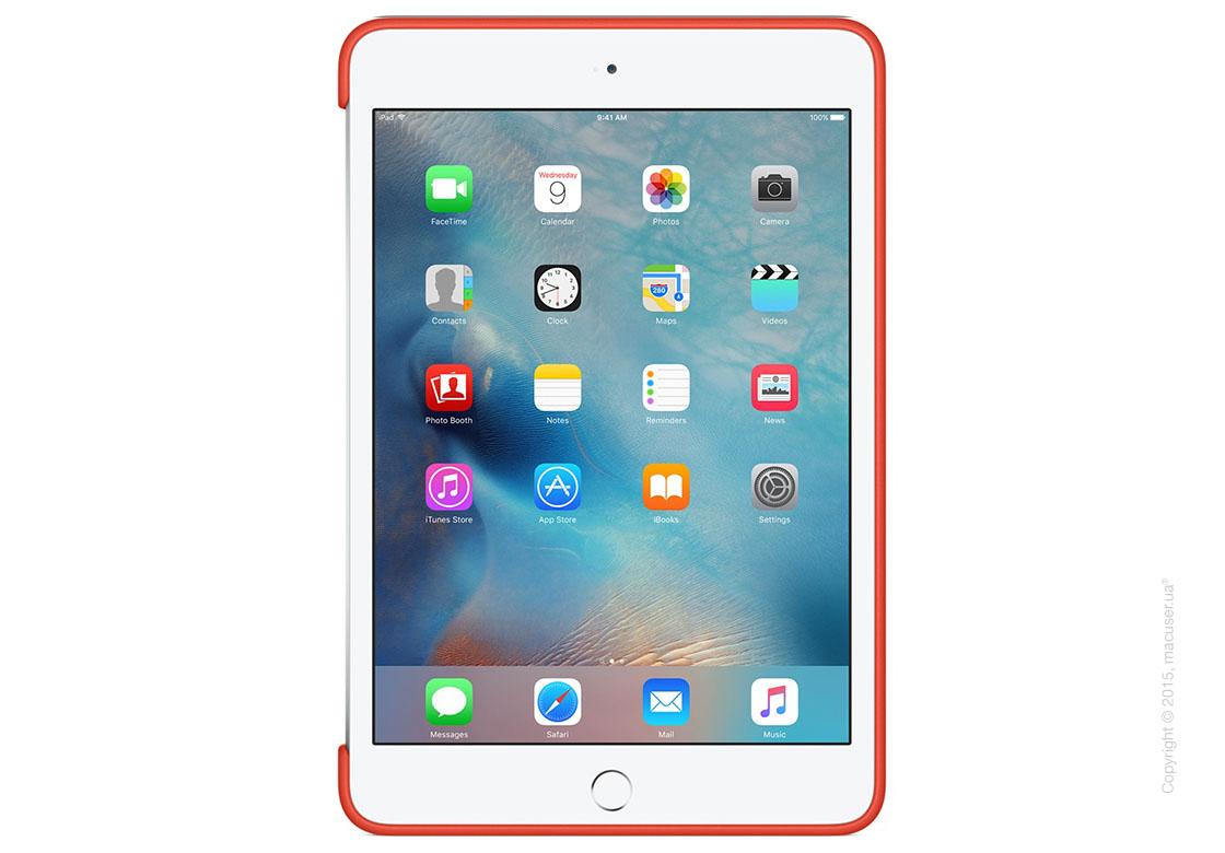 Чехол Silicone Case, Orange для iPad mini 4