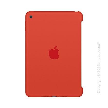 Чехол Silicone Case, Orange для iPad mini 4