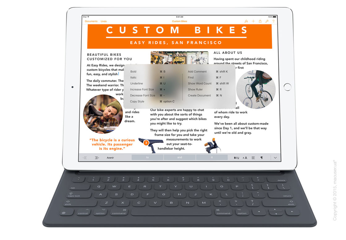 Smart Keyboard для Apple iPad Pro 12,9 - English