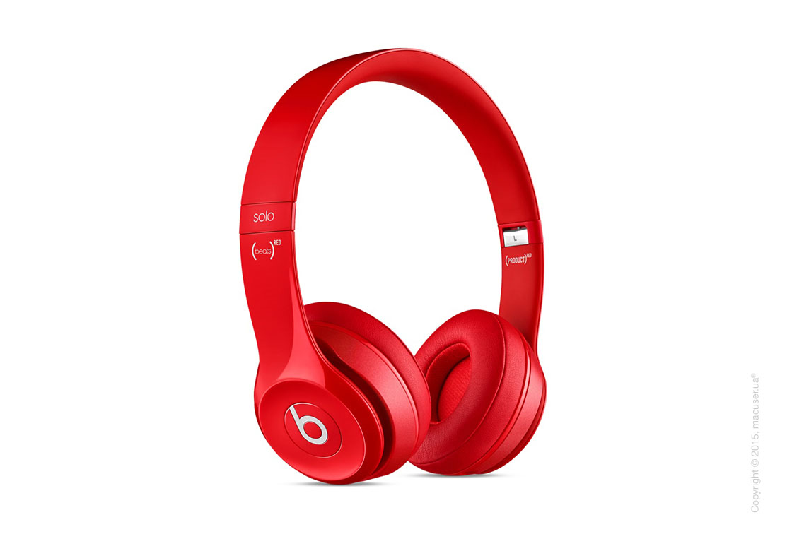 Наушники Beats Solo2 On-Ear Headphones, Red