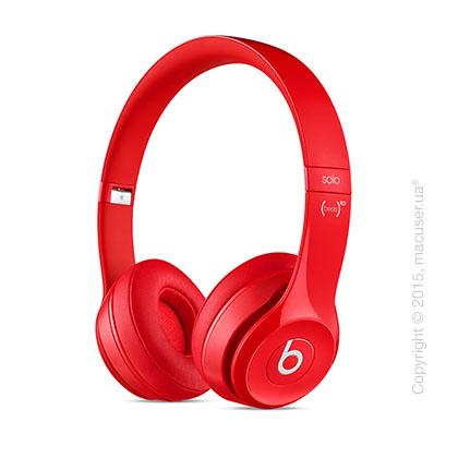Наушники Beats Solo2 On-Ear Headphones, Red