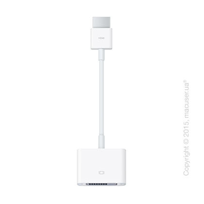Переходник Apple HDMI to DVI Adapter