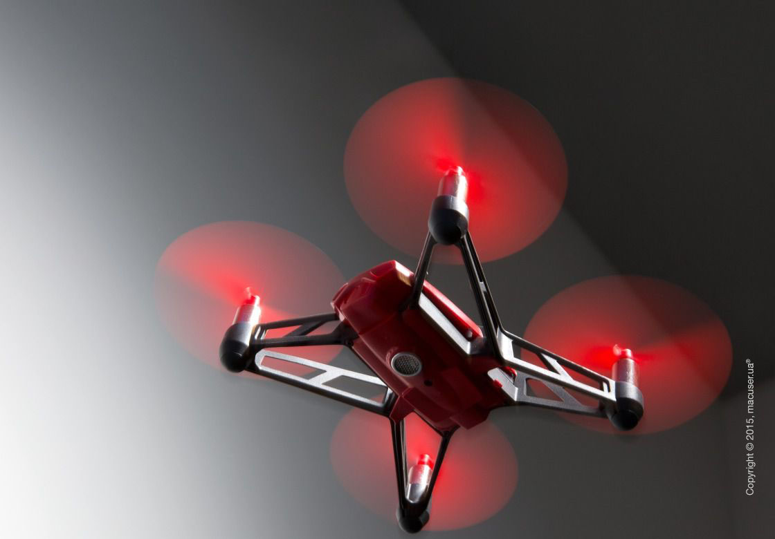 Игрушка-квадрокоптер Parrot Rolling Spider Red