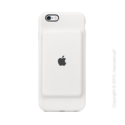 Чехол Apple iPhone 6s Smart Battery Case, White