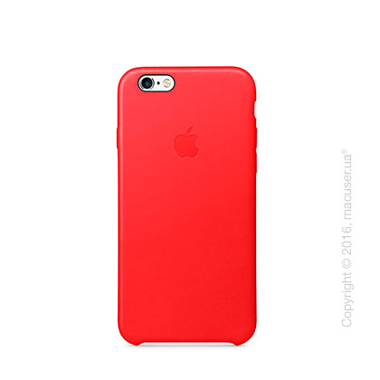 Чехол Apple iPhone 6/6s Leather Case, (PRODUCT) RED