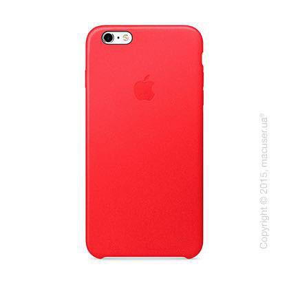 Чехол iPhone 6/6s Plus Leather Case, (PRODUCT) RED