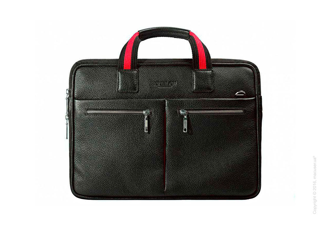 Сумка Dublon Leatherworks Escudo Classic Black 13