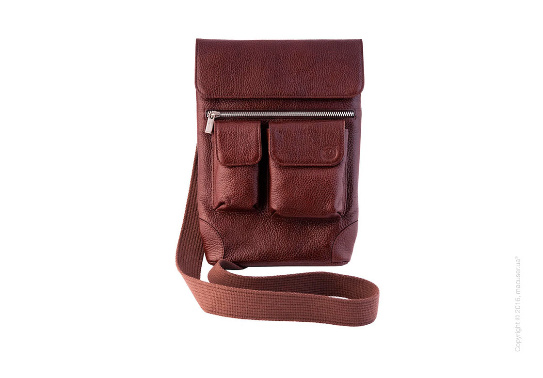 Сумка Dublon Leatherworks Urbantash Brown