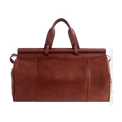 Сумка-саквояж Dublon Leatherworks iKing Brown