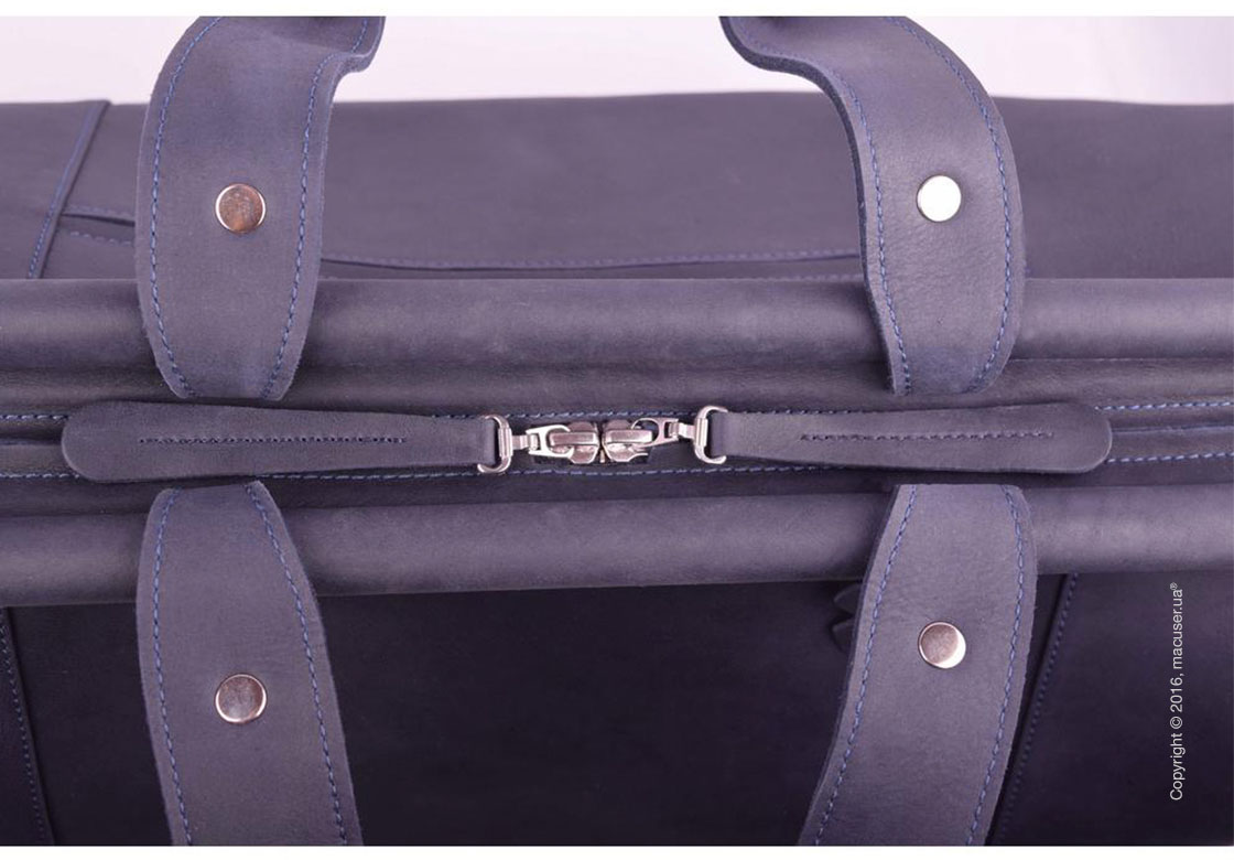 Сумка-саквояж Dublon Leatherworks iKing Bluemarine