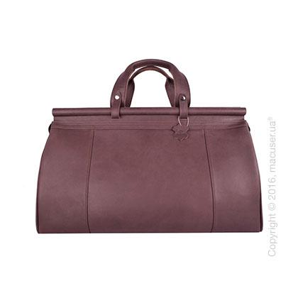 Сумка-саквояж Dublon Leatherworks iKing Brown Restyling