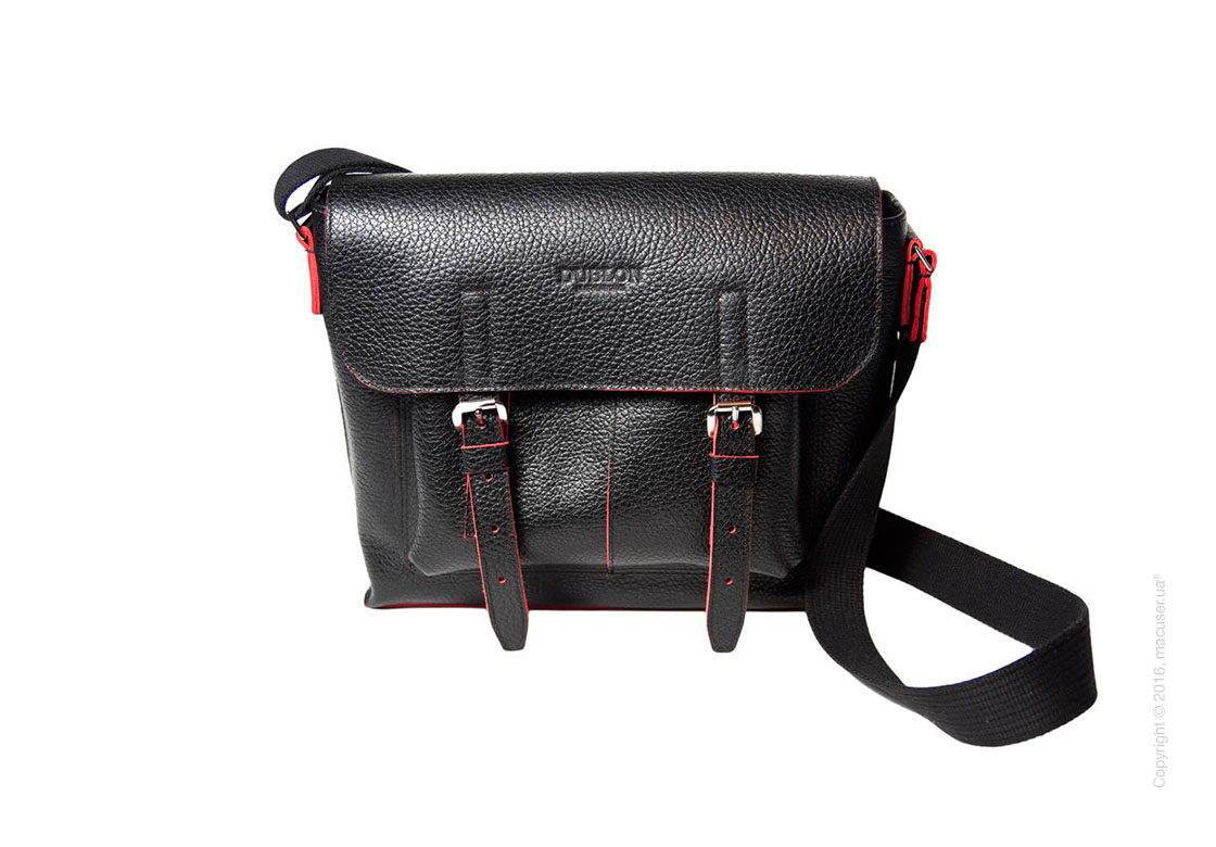 Сумка Dublon Leatherworks Urbantash Duo Black&Red для Apple MacBook 11