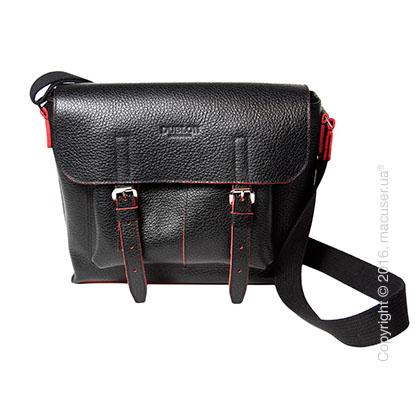 Сумка Dublon Leatherworks Urbantash Duo Black&Red для Apple MacBook 11