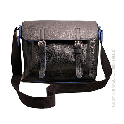 Сумка Dublon Leatherworks Urbantash Duo Black&Blue для Apple MacBook 11