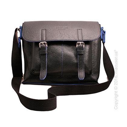 Сумка Dublon Leatherworks Urbantash Duo Black&Blue для Apple MacBook 11
