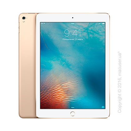 Apple iPad Pro 9,7 дюйма Wi-Fi + 4G 256GB, Gold