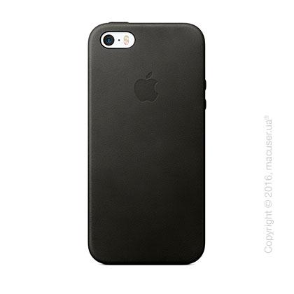 Чехол Apple SE Leather Case, Black