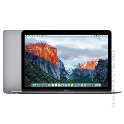 Apple MacBook 12 Retina Space Gray 256GB MLH72