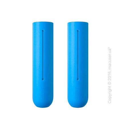 Силиконовые накладки Soft Grip для скакалки Tangram Smart Rope, Blue