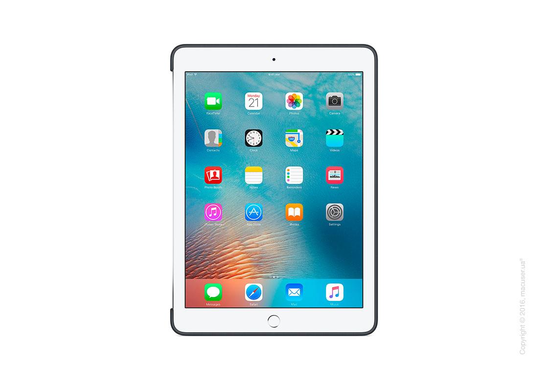 Чехол Silicone Case, Charcoal Gray для iPad Pro 9,7