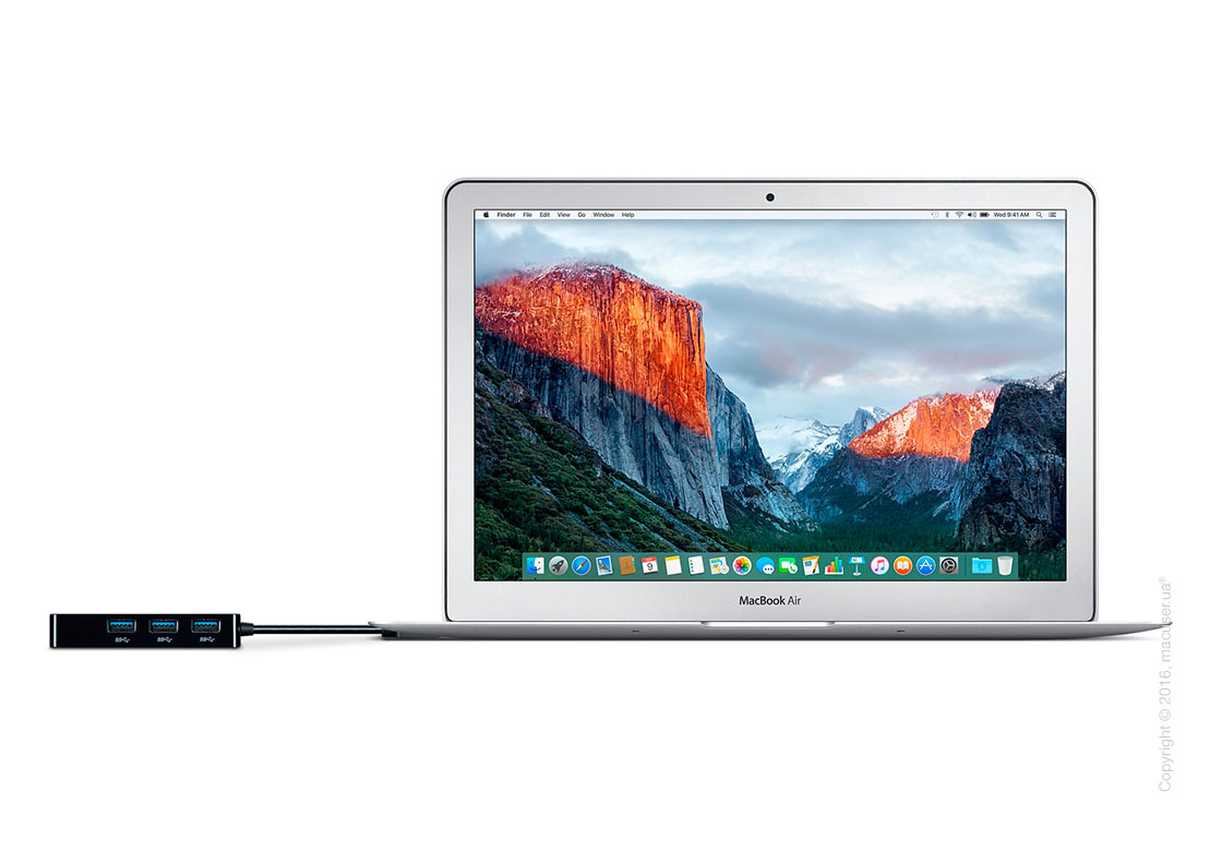 Belkin USB 3.0 3-Port Hub with Gigabit Ethernet Adapter