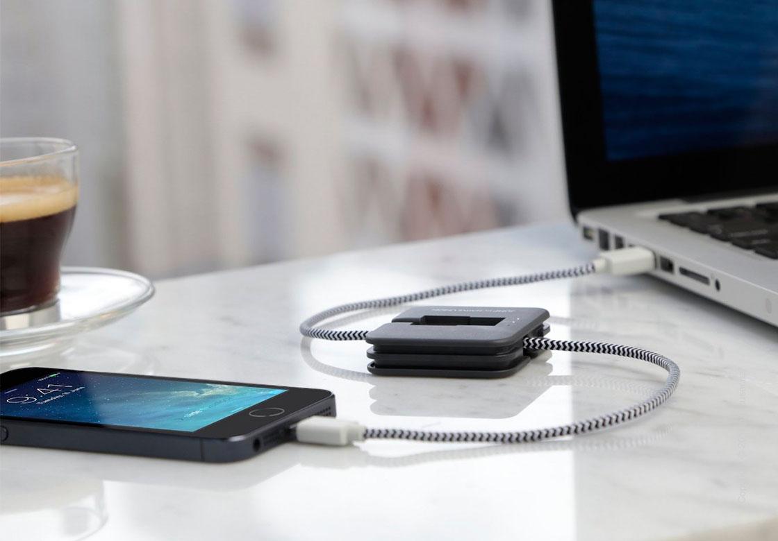 Кабель-аккумулятор Native Union Jump Cable Lightning – Slate