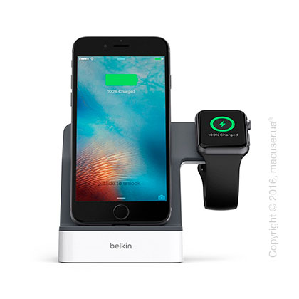 Док-станция Belkin PowerHouse Charge Dock для Apple Watch и iPhone