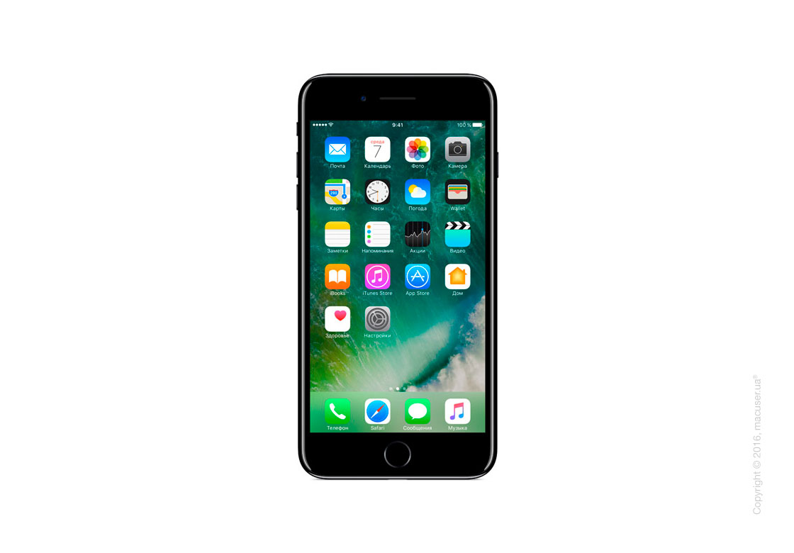 Apple iPhone 7 Plus 128GB, Jet Black