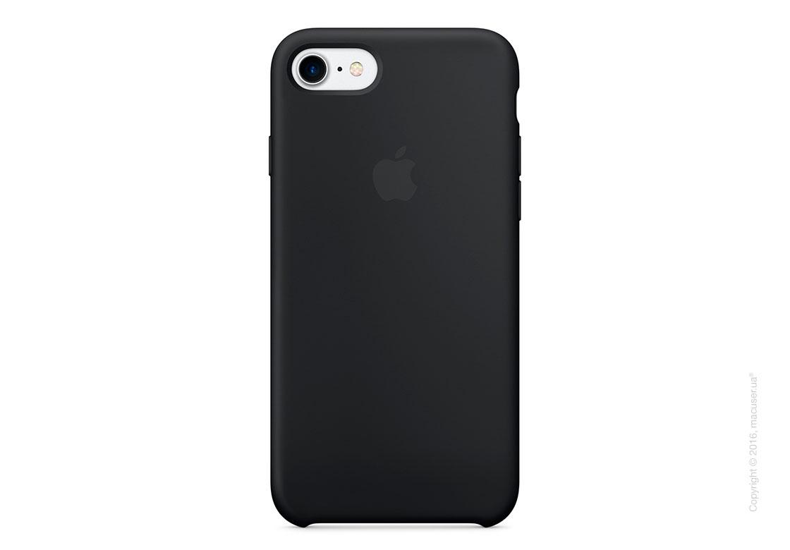 Чехол Apple iPhone 8/7 Silicone Case, Black