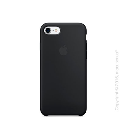 Чехол Apple iPhone 8/7 Silicone Case, Black