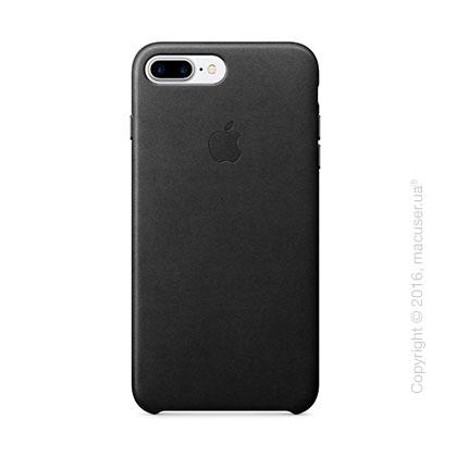Чехол Apple iPhone 8 Plus/7 Plus Leather Case, Black
