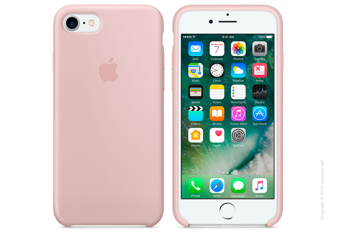 Чехол Apple iPhone 7/8 Silicone Case, Pink Sand