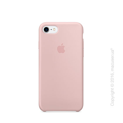 Чехол Apple iPhone 7 Silicone Case, Pink Sand