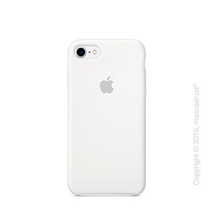 Чехол Apple iPhone 7 Silicone Case, White