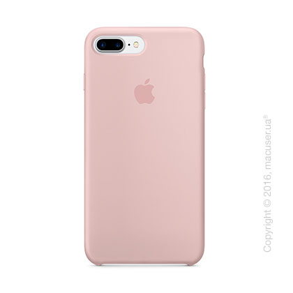 Чехол Apple iPhone 8 Plus/7 Plus Silicone Case, Pink Sand