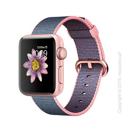 Apple Watch Series 2 38mm Rose Gold Aluminum Case с ремешком из нейлона цвета