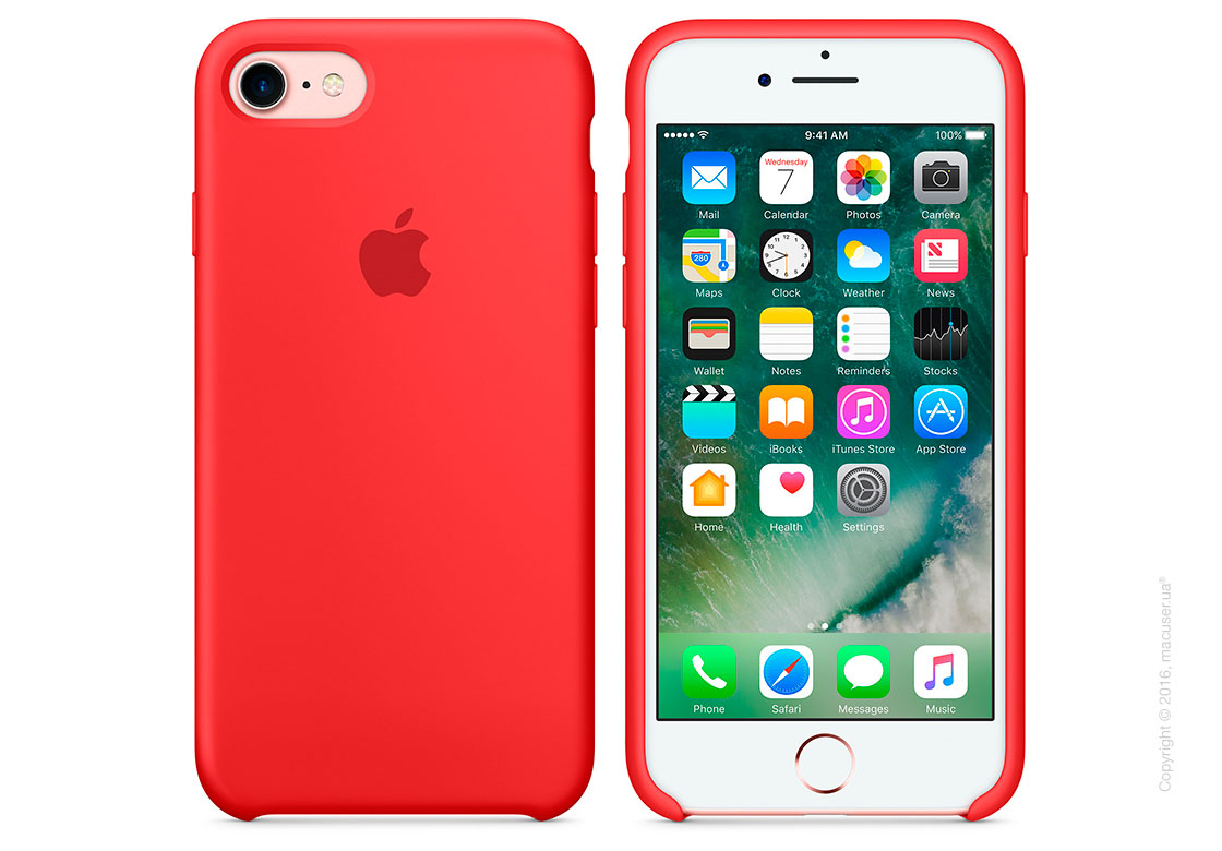 Чехол Apple iPhone 7/8 Silicone Case, PRODUCT(RED)