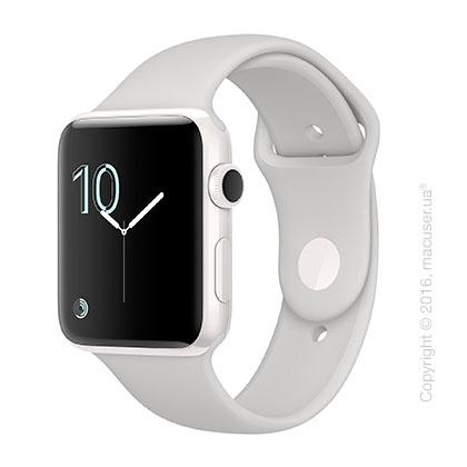 Apple Watch Edition Series 2 42mm Ceramic Case со спортивным ремешком цвета
