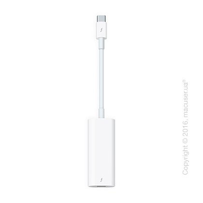 Адаптер Apple Thunderbolt 3 (USB-C) to Thunderbolt 2