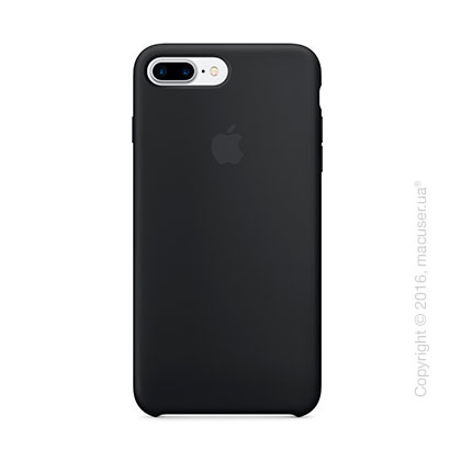 Чехол Apple iPhone 7 Plus Silicone Case, Black