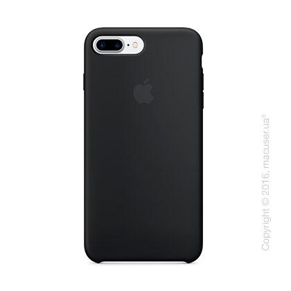 Чехол Apple iPhone 8 Plus/7 Plus Silicone Case, Black