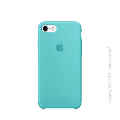 Чехол Apple iPhone 7 Silicone Case, Sea Blue