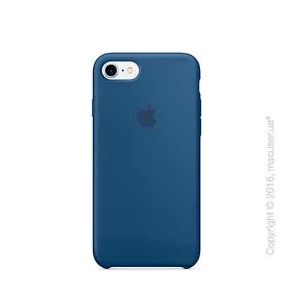 Чехол Apple iPhone 8/7 Silicone Case, Ocean Blue