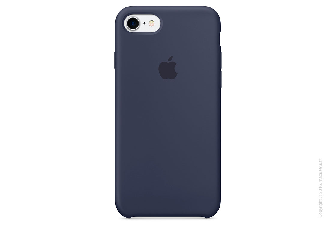 Чехол Apple iPhone 7/8 Silicone Case, Midnight Blue